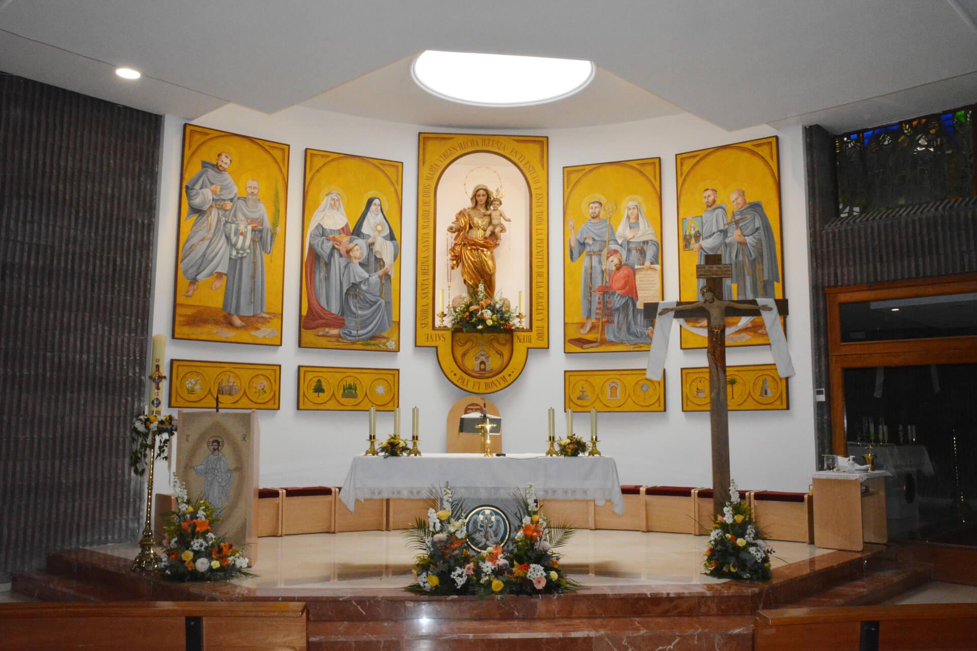 altar parroquia del rosario